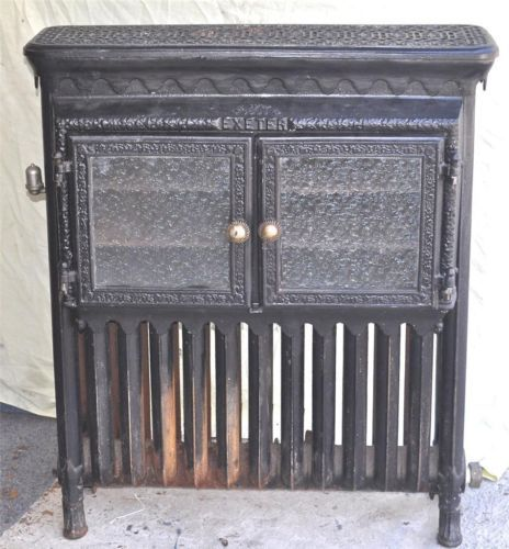 Details About Antique EXETER 1885 Cast Iron Steam Radiator