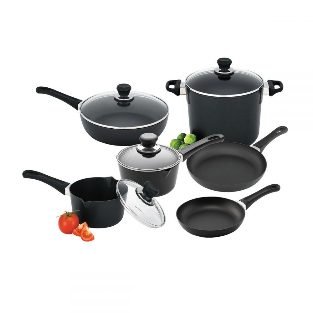 Scanpan Classic Cookware Set 6 Piece Cookware Set Cookware