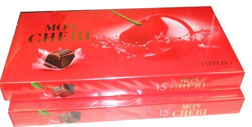 Mon Cheri Liquor Filled Chocolate Covered Cherries 30 Count Food