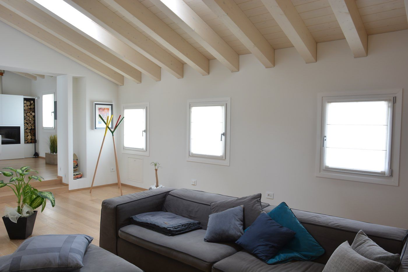 Modern Living Room sofa couch interiordesign furniture