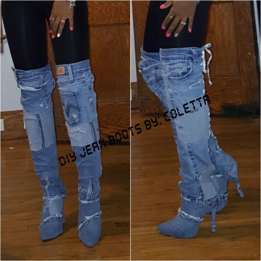 Hey Loves I M Usually Not The One For Trends But This Couldn T Refuse Had To Recreate Some Jean Like Boots Hope You All Find Fun And Helpful