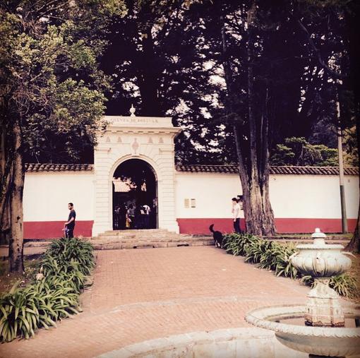 RT @epradaserra Bogotá - Casa de Bolívar
