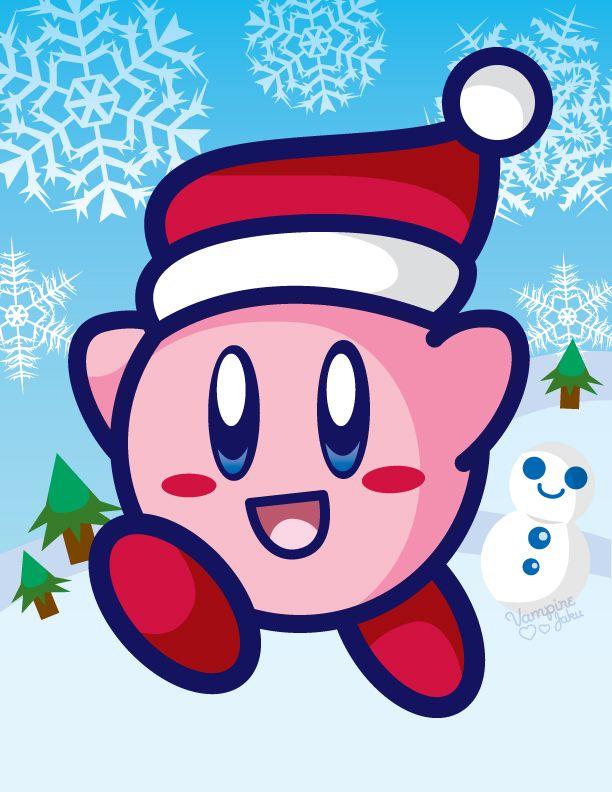 Holiday Kirby by VampireJaku on deviantART   Kirby   Pinterest ...