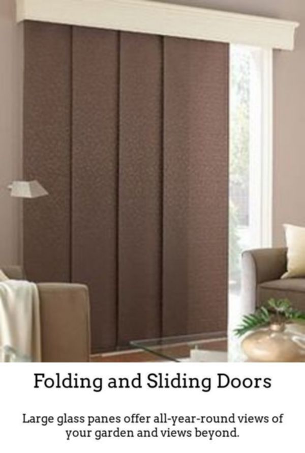 Bamboo Sliding Panel Track Blinds: Interior Hanging Sliding Doors