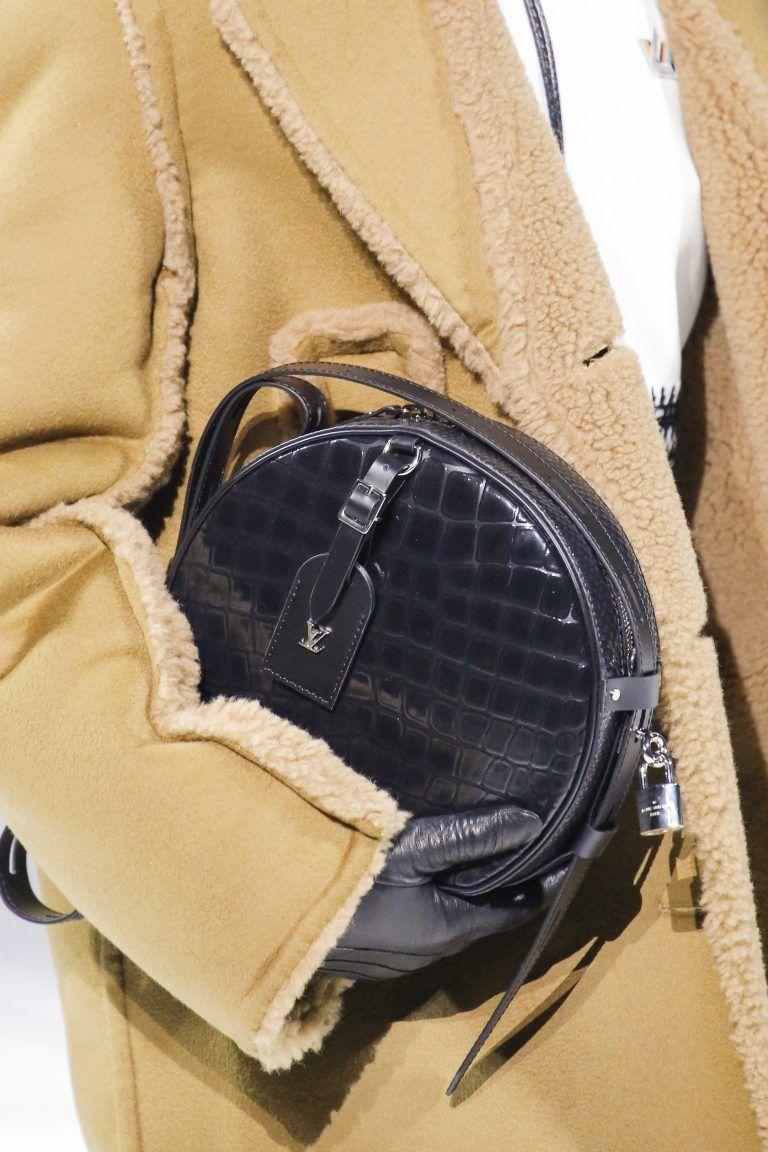 9ba72e9d20bf Louis Vuitton Black Crocodile Petite Boite Chapeau Bag 2 - Fall 2018 ...