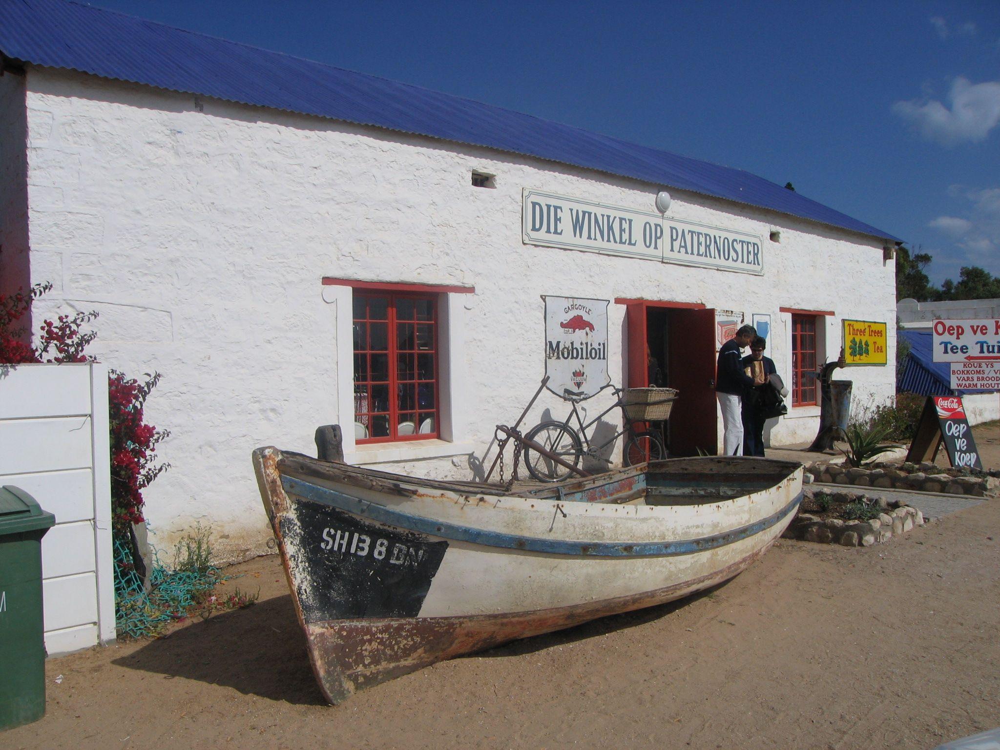 Malerische Fischerdörfer an der Westküste von Südafrika