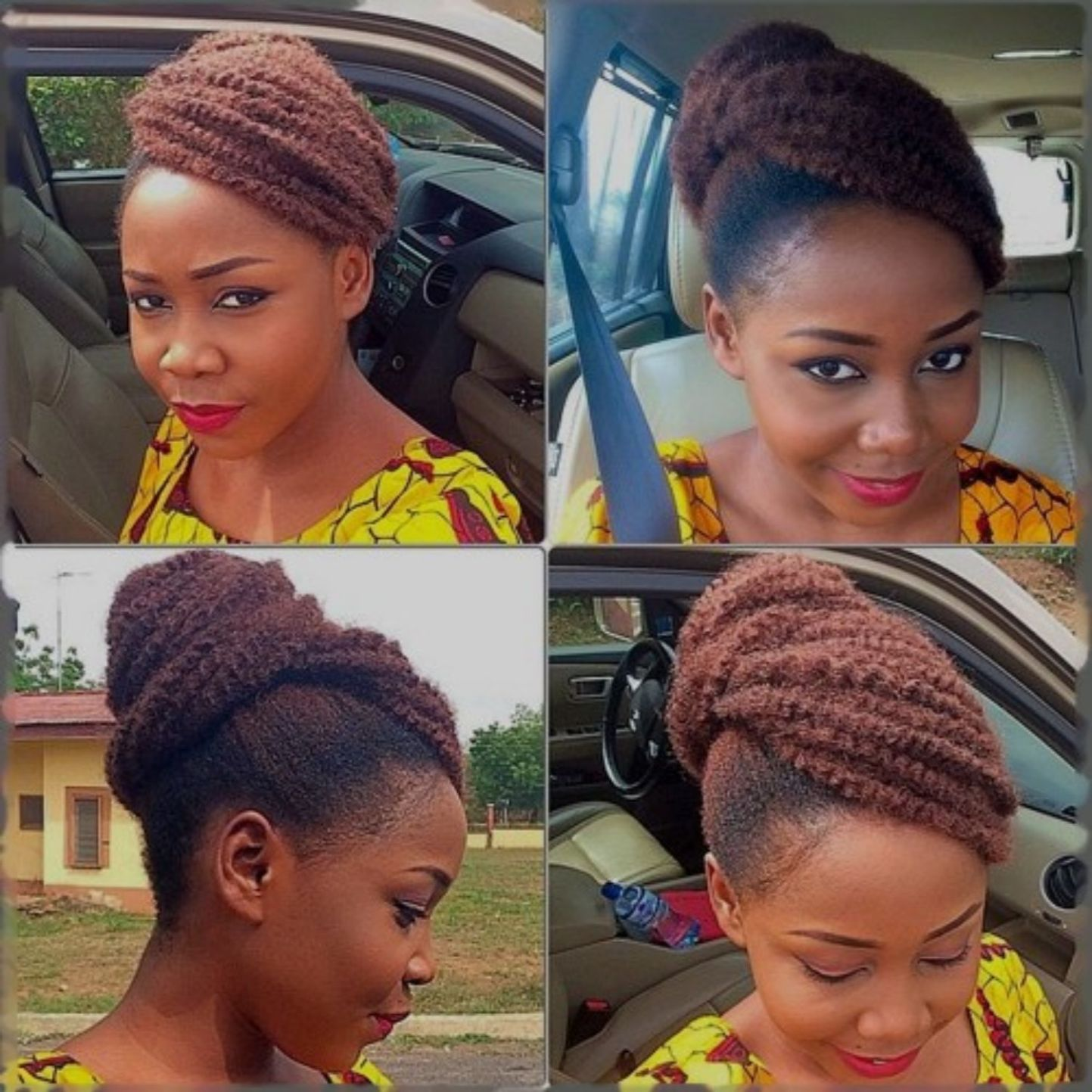 easy and showy protective hairstyles for natural hair in