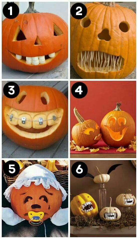 Pumpkin Carving Dental Style :) #pumkincarvingdesigns
