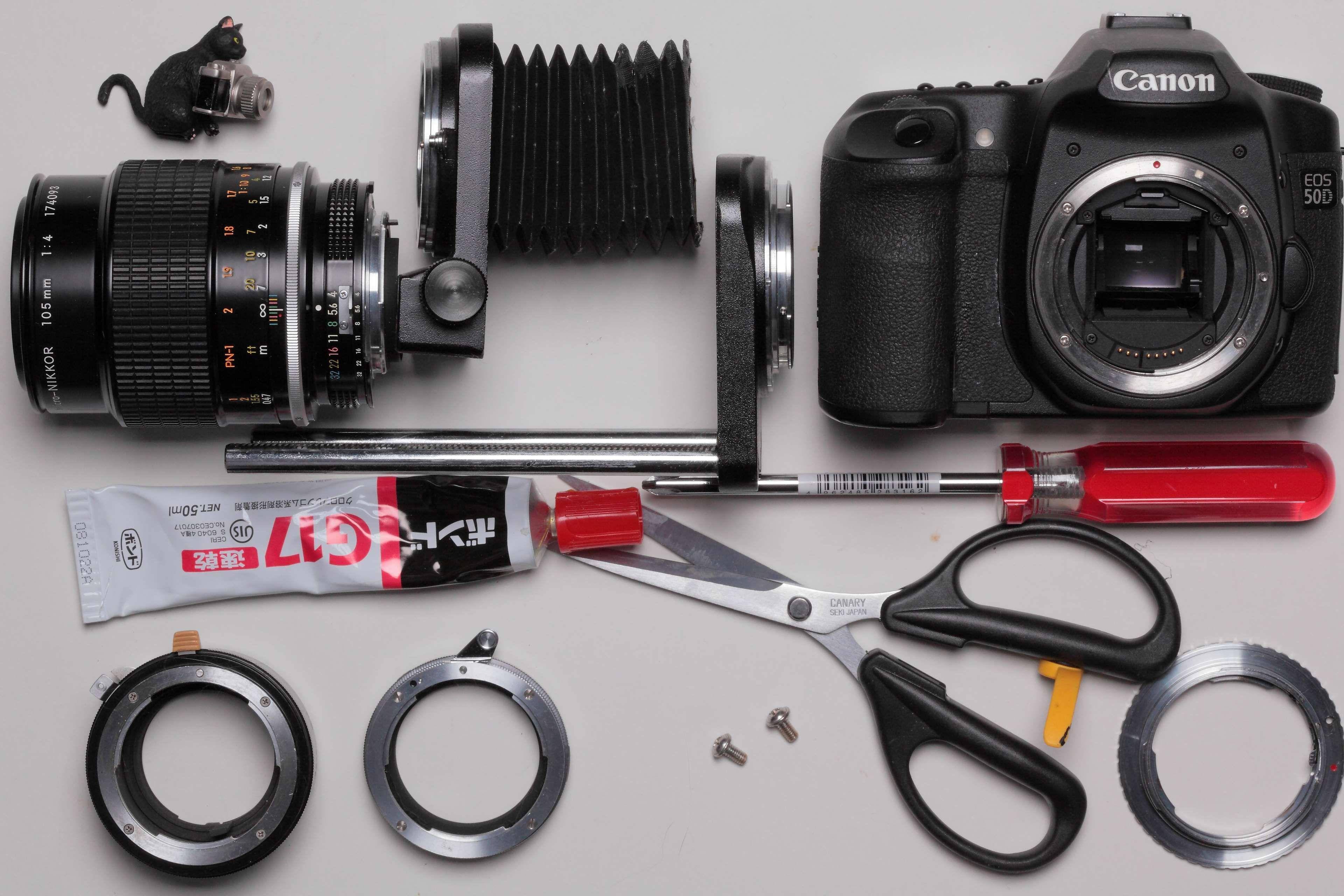 adhesive #aperture #bellows #black #camera #diy #driver