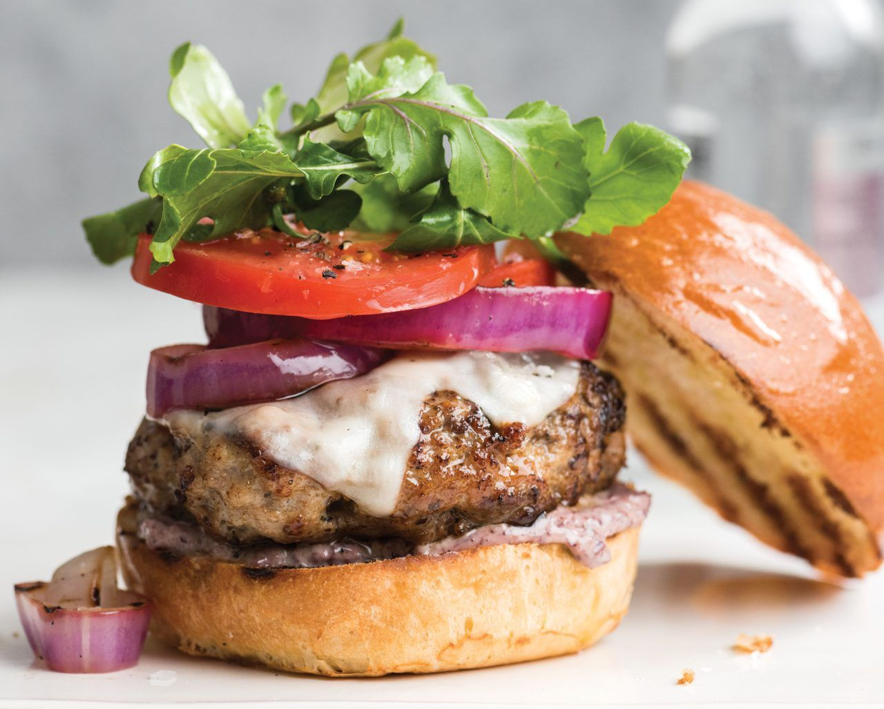 how to make a classic backyard burger with an italian flair | relish