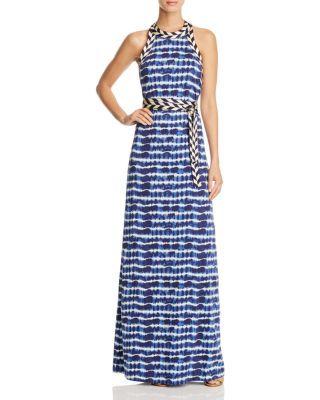 Tory Burch Pelton Tie Dye Stripe Maxi Dress | Bloomingdale's