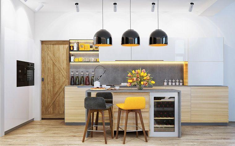 Color amarillo en la cocina - Ideas y consejos para enriquecer el ...