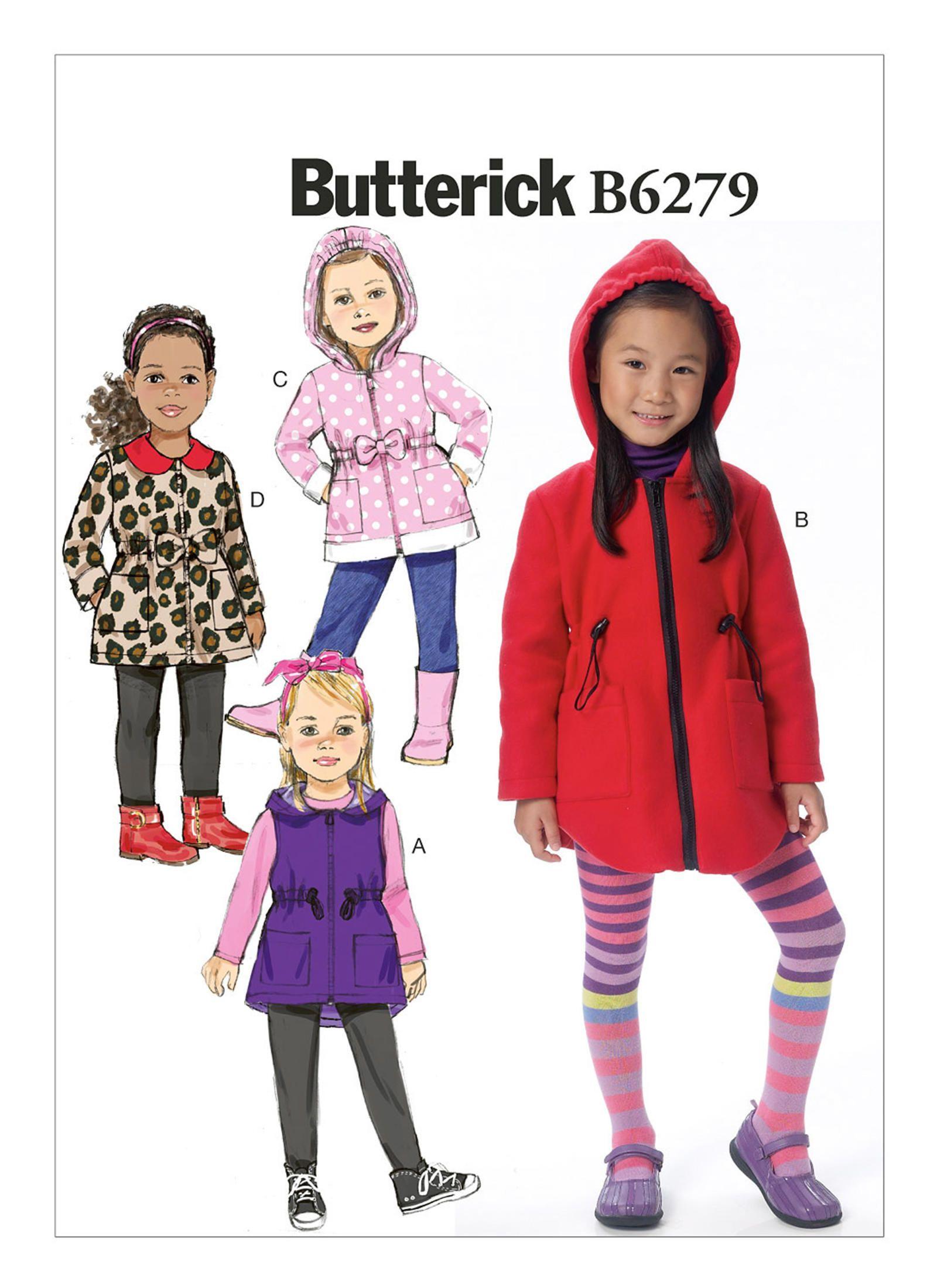 13c77e95cf966 Butterick 6279. Butterick 6279 Kids Patterns ...