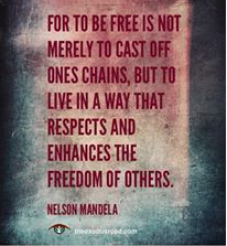 Inspirational Quote About The Goodness Of Freedom And The Hope That