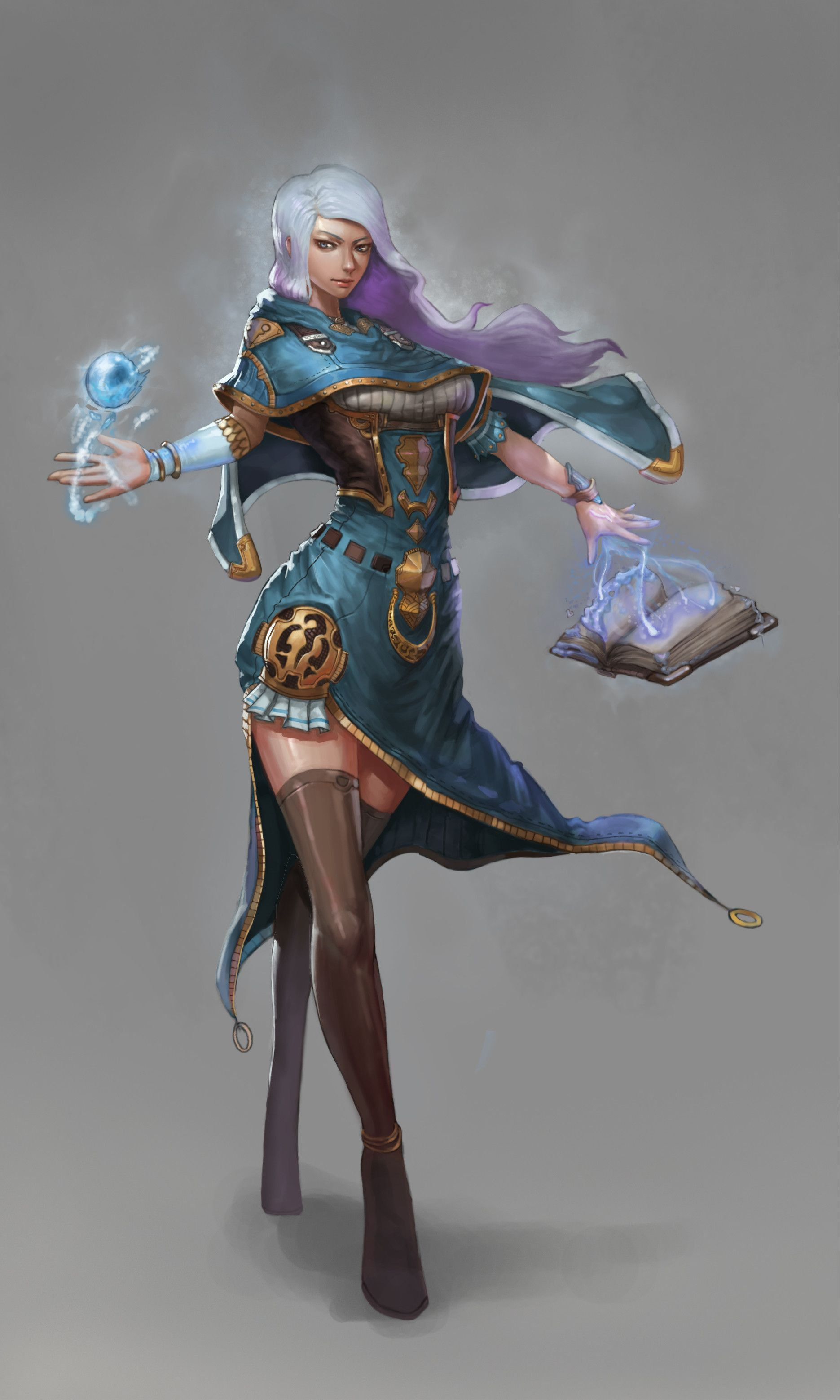 ArtStation - witch, Won CHun