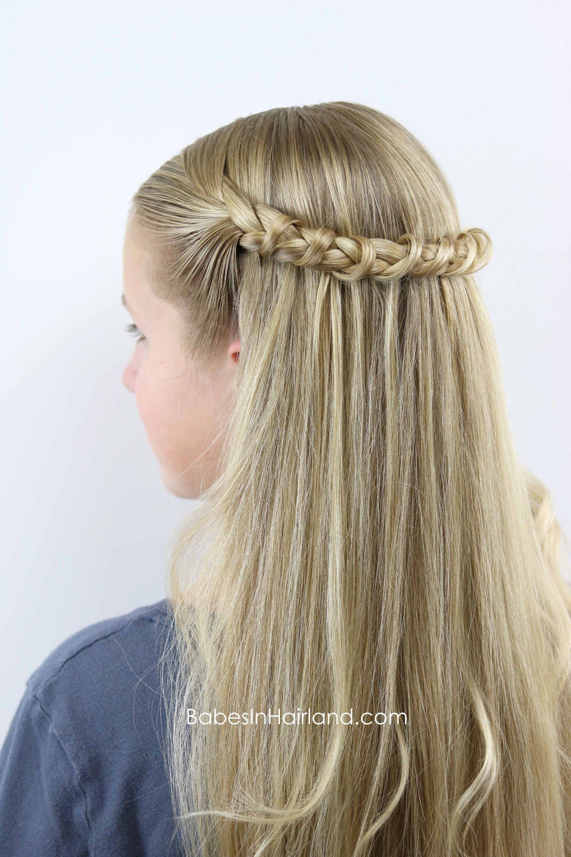 This Tunnel Braid is such a unique but easy hairstyle from ...