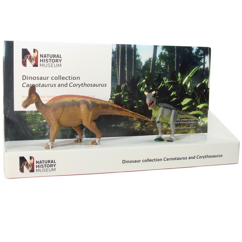 Diplodocus And Kentrosaurus Models: Carnotaurus And Corythosaurus Box Set