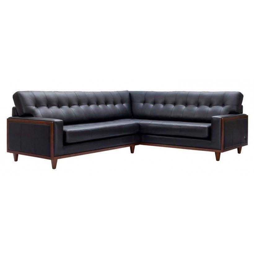 G Plan Vintage The Fifty Nine Right Hand Corner Leather Sofa Furniture Leather Sofa Sofa Vintage