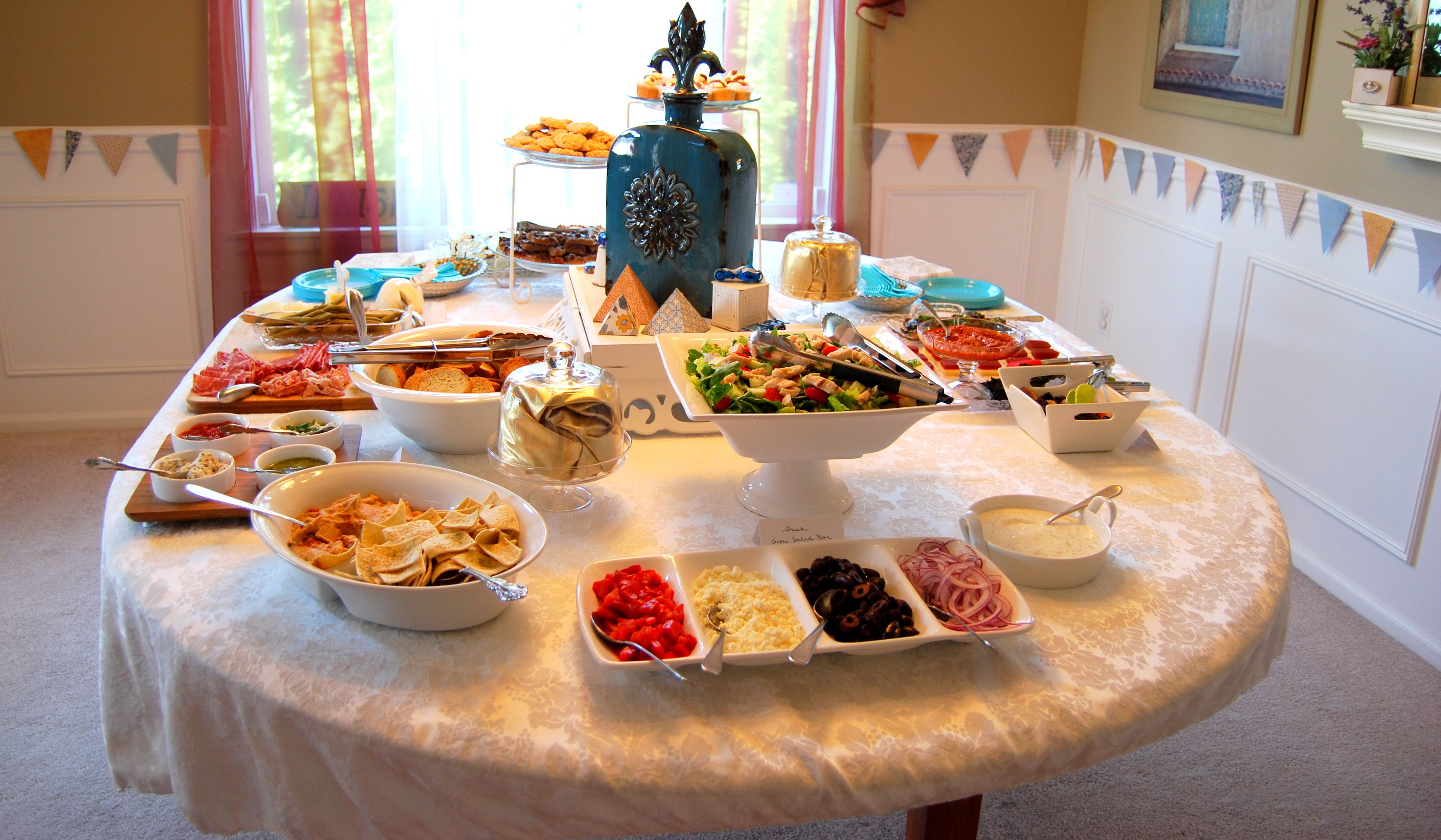 Around The World Food For Baby Boy Shower And Meet Amp Greet