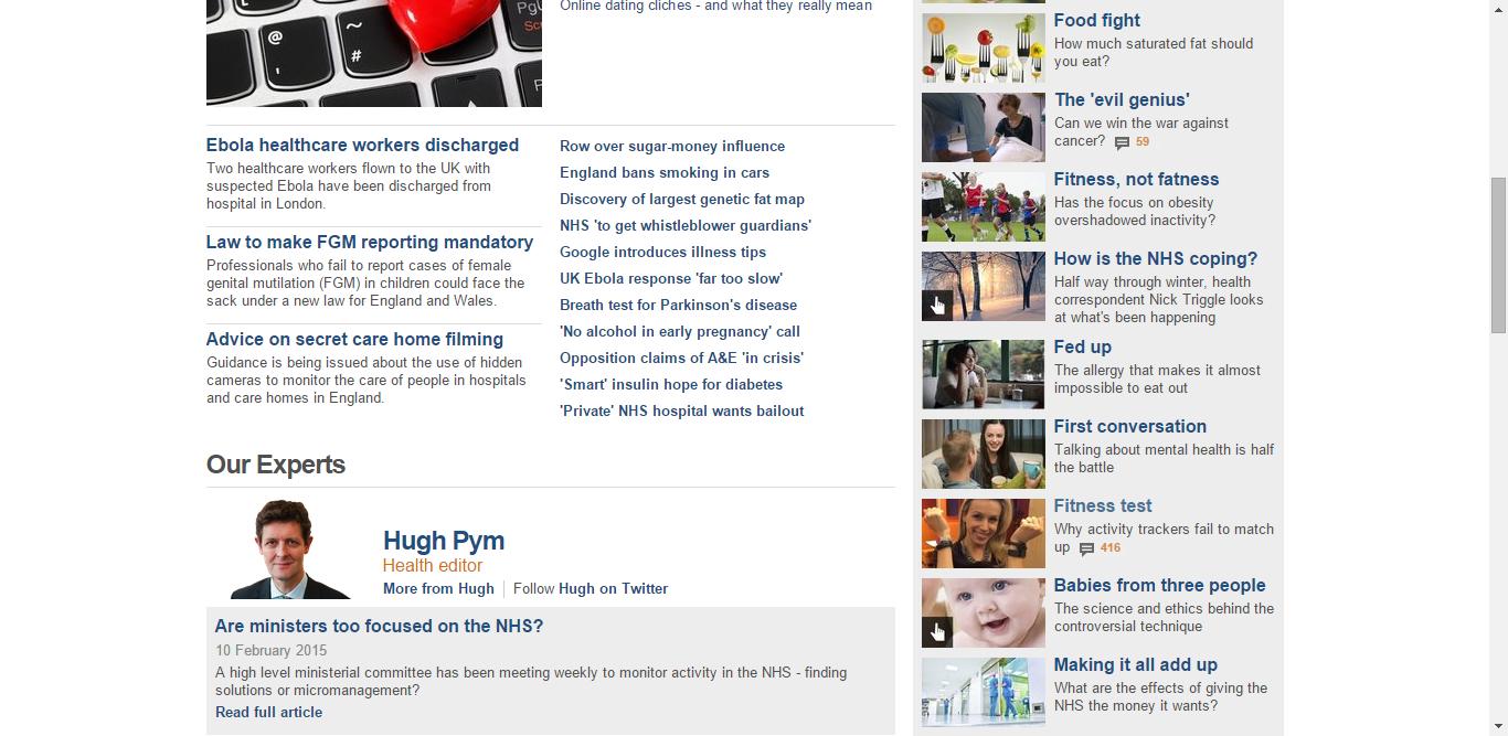 BBC News - Health