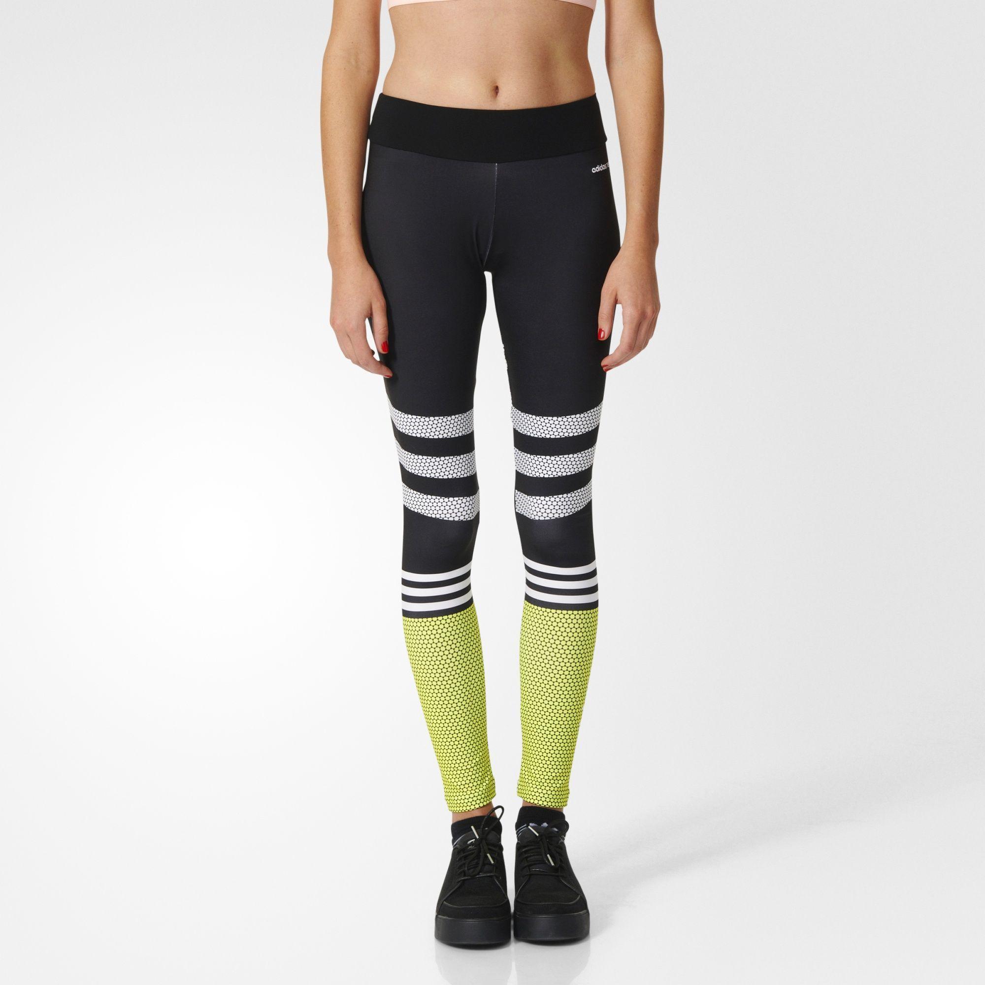 adidas neo leggings schwarz