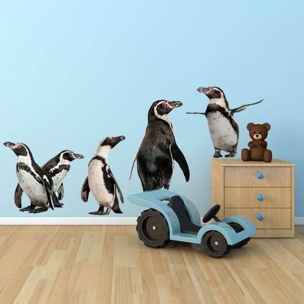 Giant Penguin Wall Stickers & Giant Penguin Wall Stickers | Animal Wall Decals | Pinterest | Wall ...