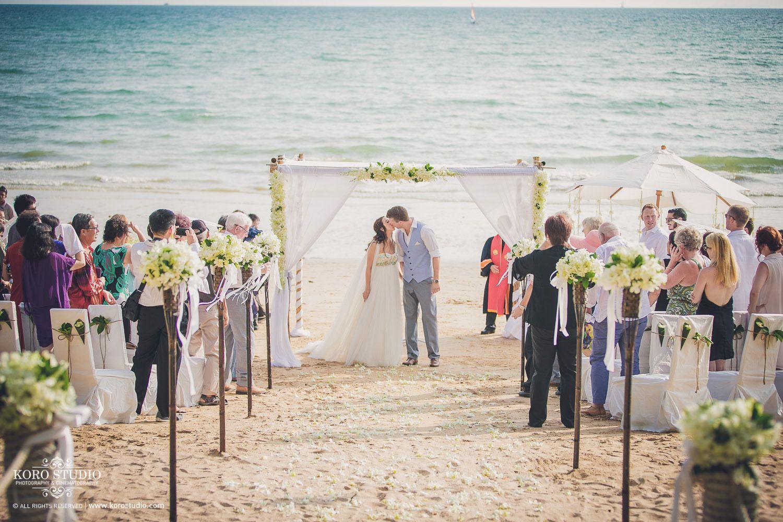 Beach Wedding Destination In Krabi Thailand Charlotte And Aron From Australia