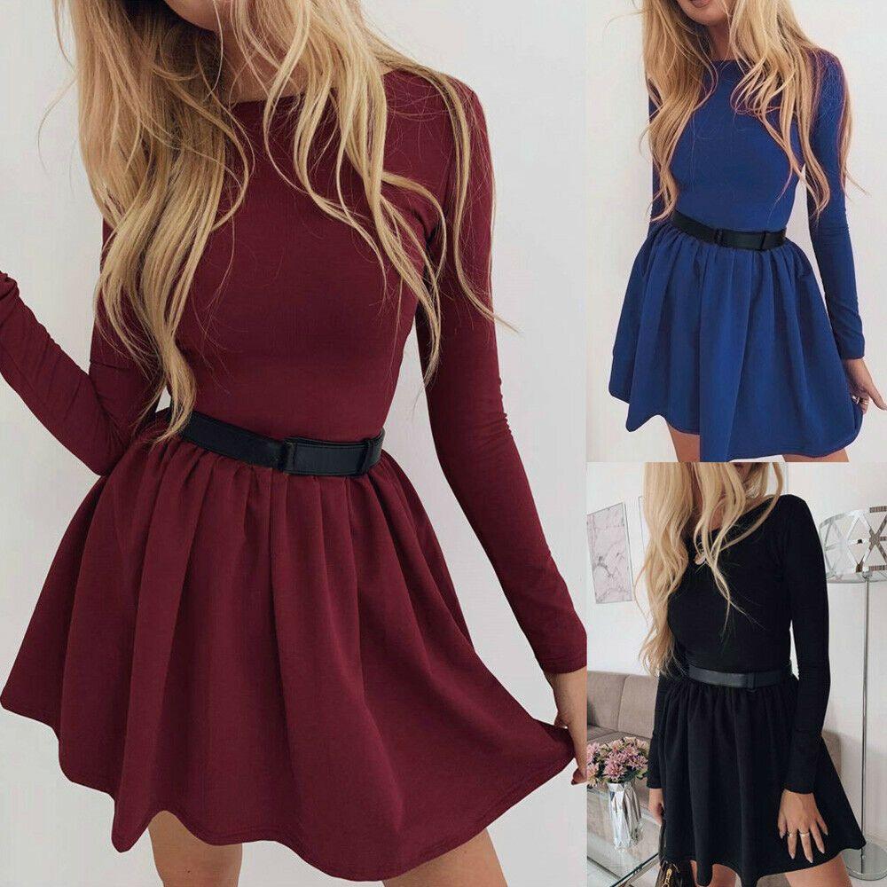 pin von rotesdorle auf outfits | minikleid, langärmliges