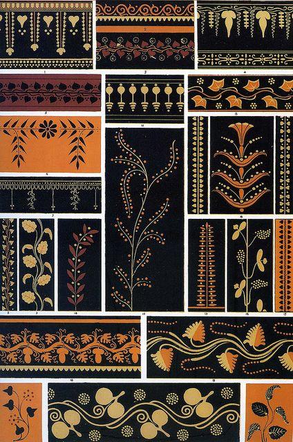 Pin By Allyssa Renee On Classical Greek Pattern Pattern Art Wall Art Prints