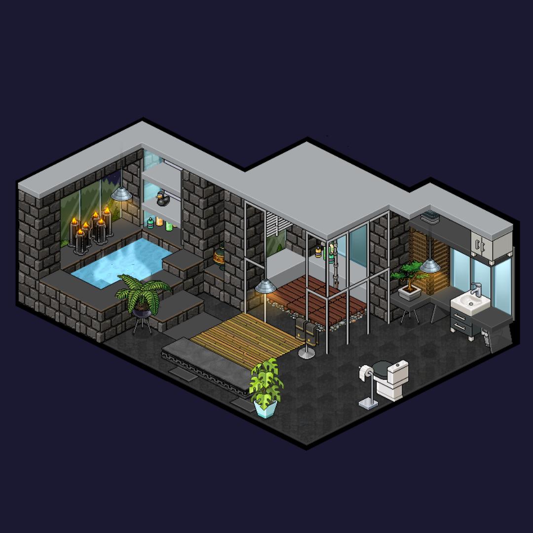 Pin En Habbo Rooms