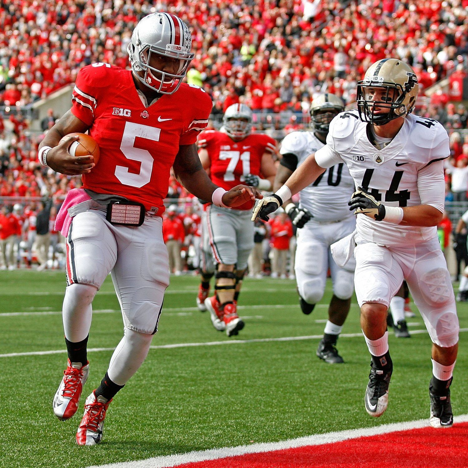 Ohio State Football Biggest Trap Games On Buckeyes 2013 Schedule Ohio State Football Ohio State Buckeyes