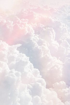 Pastel Cloud Nuage Douceur Pink Blue Caresse Fly