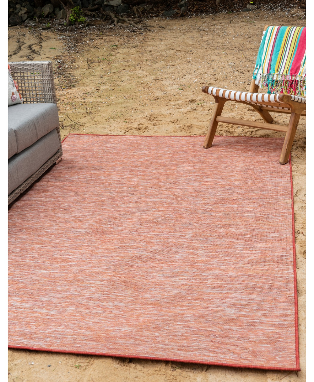 Bridgeport Home Pashio Pas8 Terracotta 9 4 X 12 Area Rug Reviews Rugs Macy S Outdoor Rugs Patio Patio Rugs Unique Loom