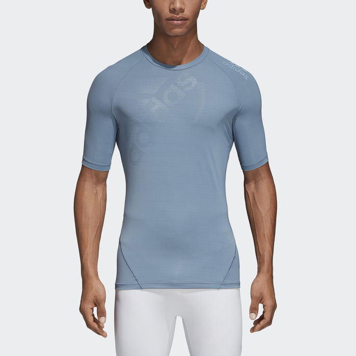 Alphaskin Tech Tee in 2019 | Adidas, Mens tops, Shirts