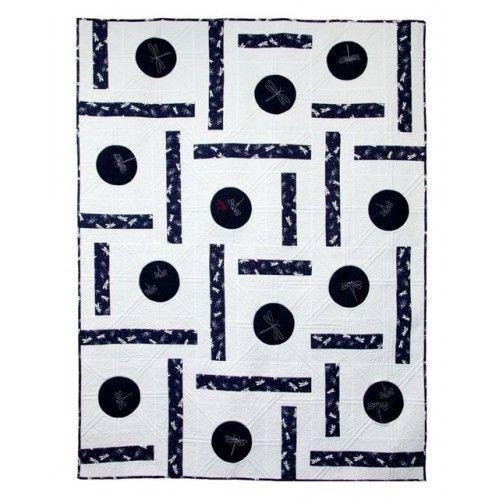 Breaking Free - quilt design incorporates Sashiko and applique.
