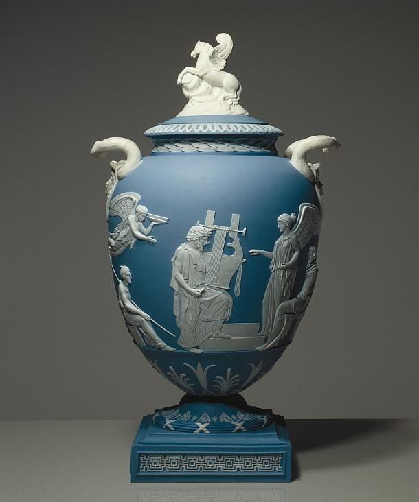 Josiah Wedgwood After A Design By John Flaxman Pegasus Vase 1786 Objet D Art In 2019