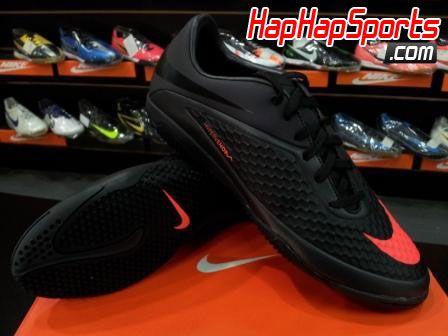 Sepatu Futsal Nike Hypervenom Phelon IC - Hitam  5738b5219f