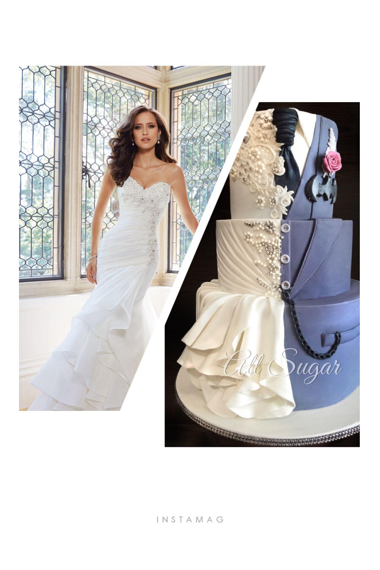 Batman Themed Wedding Dress | Wedding