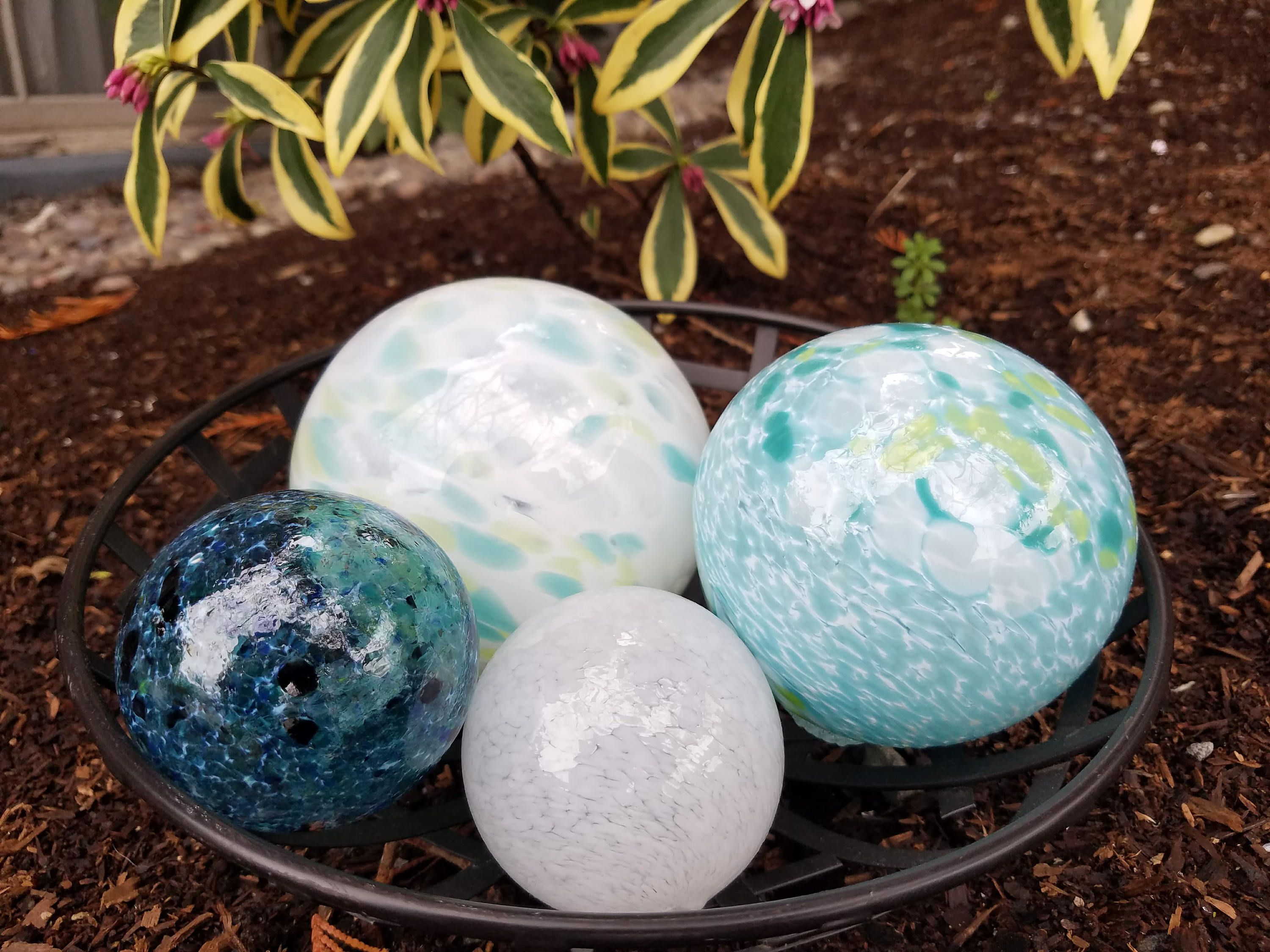 things balls best garden of decor part make diy decorative the glass