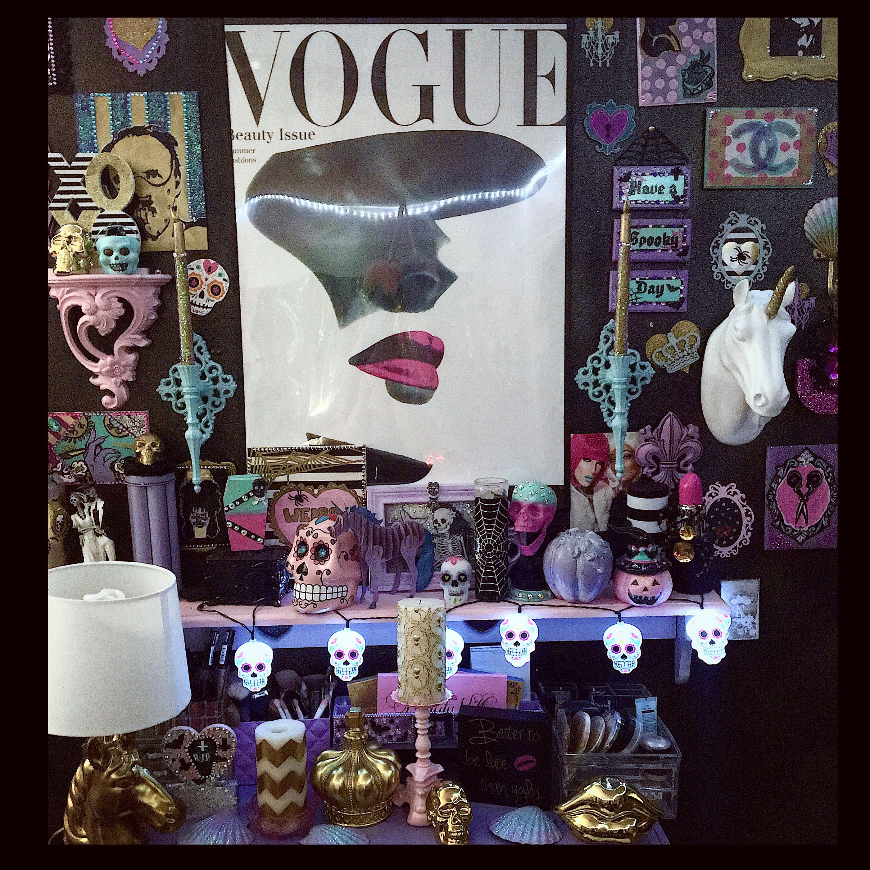 Pastel Goth Room Decor Wiring Diagrams All Points 421265 On Off Circuit Breaker Switch 30a 250v My Makeup Jaidyn Perkins Diy Rh Pinterest Com Teen