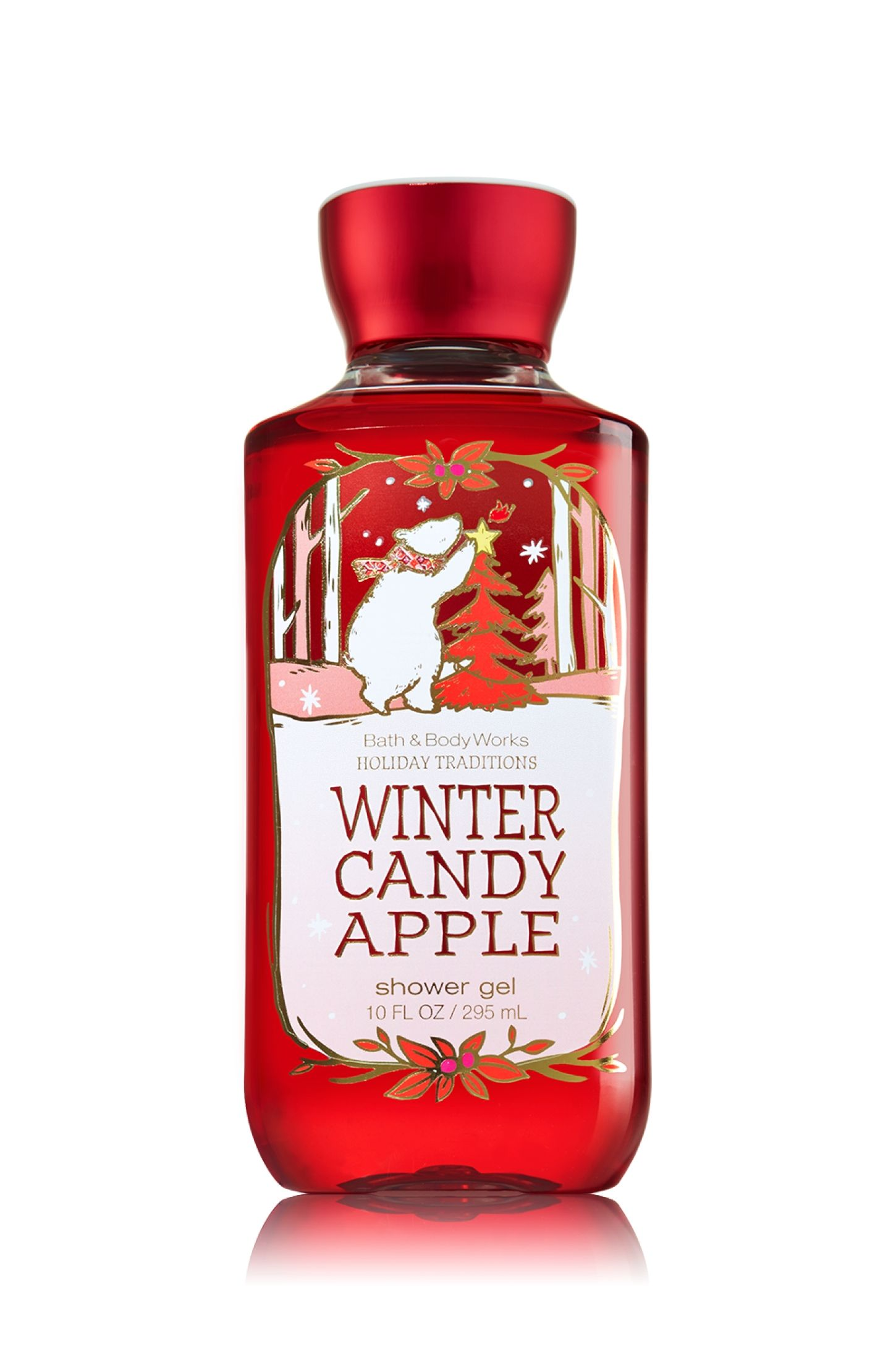 Winter Candy Apple Shower Gel Signature Collection Bath Body