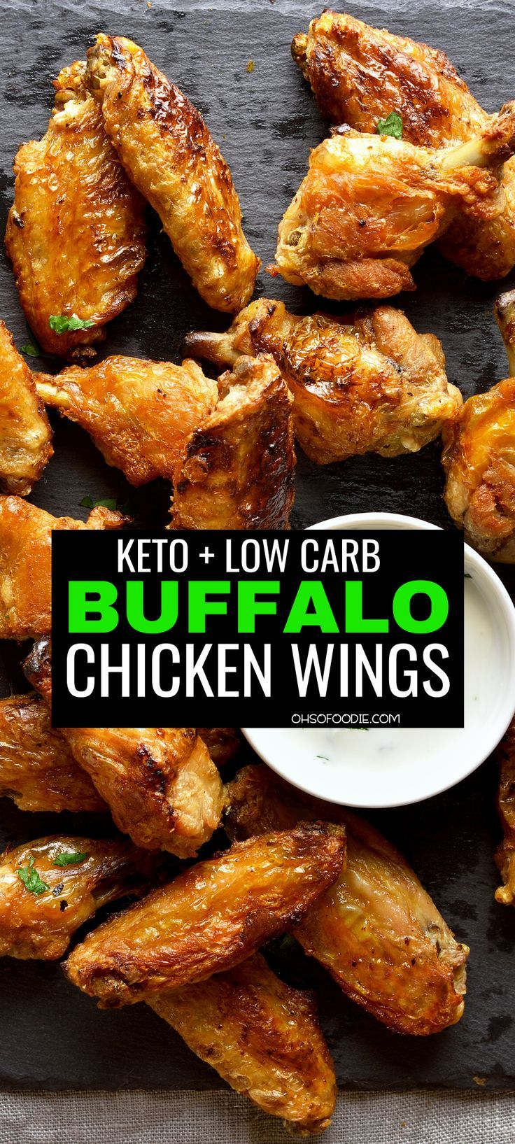 Keto Buffalo Wings: Low Carb & Easy - Oh So Foodie