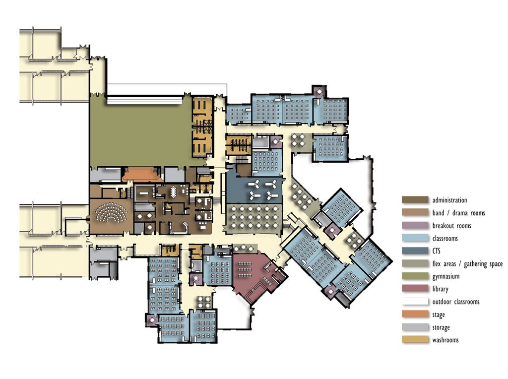 School floor plan maker thefloors co for Building layout maker