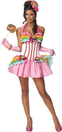 Lollipop Secret Dress Adult Candy WishesSexy Costumes fyvY7gb6