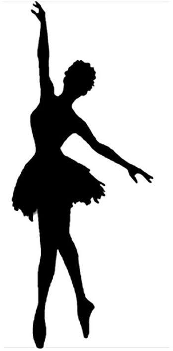 Plantillas Y Stencils Silhouette Art Dance Silhouette Ballerina Silhouette