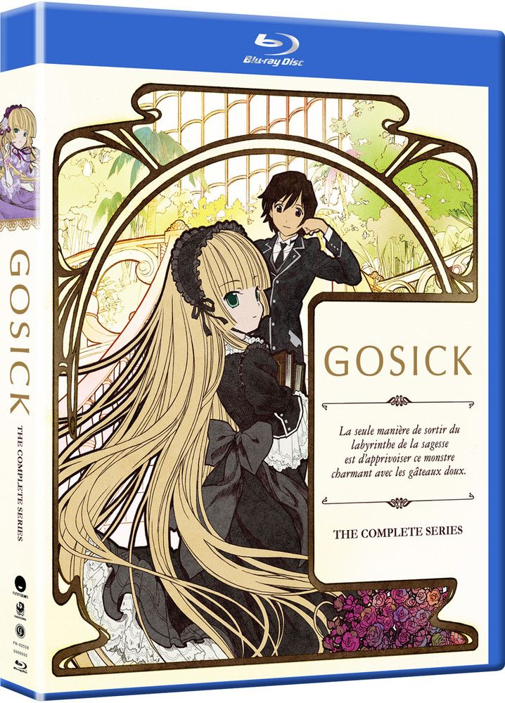 Anime Review Gosick (2011) Anime dubbed, Anime reviews
