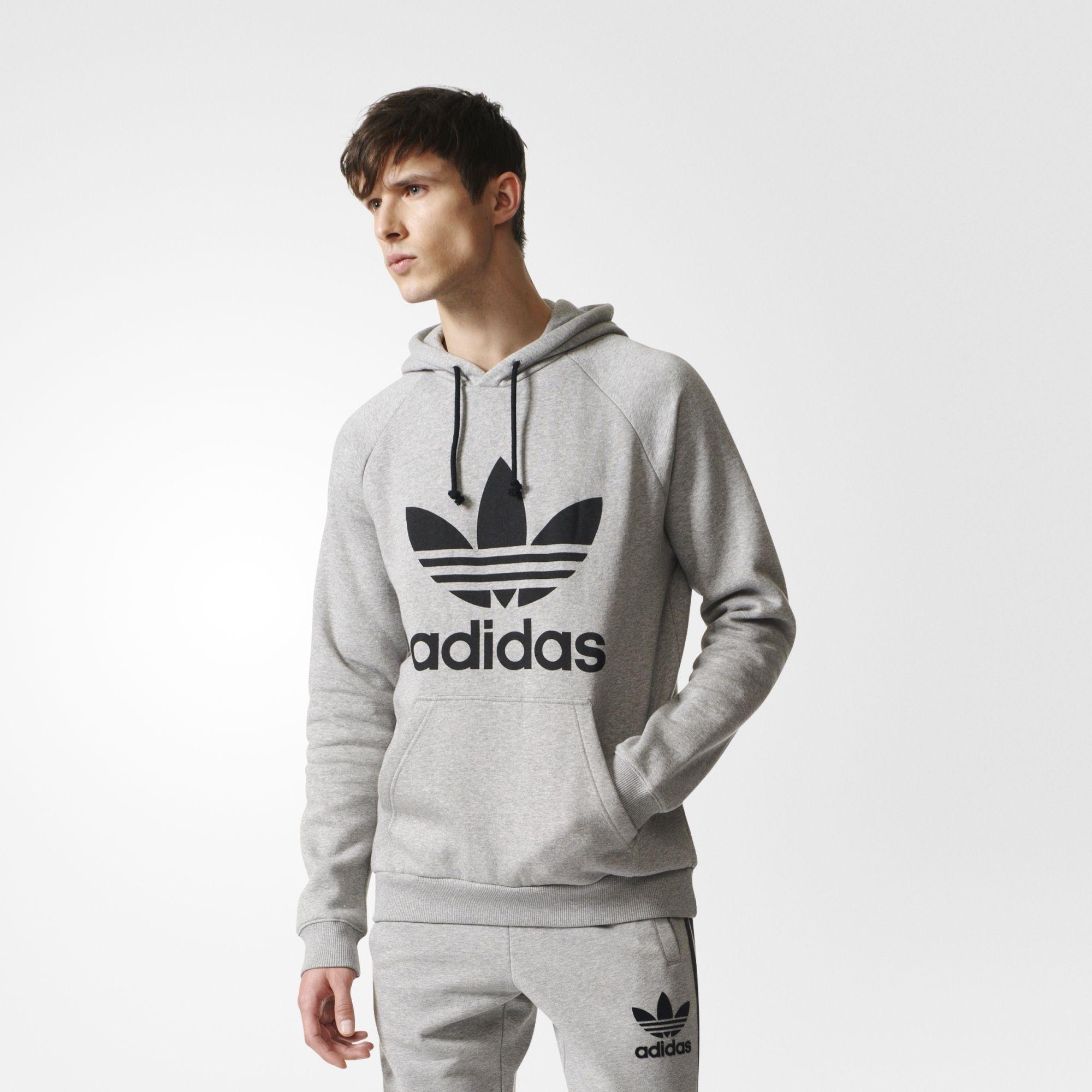 adidas Men's Trefoil Hoodie | Jackets | Adidas originals