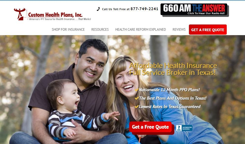 Insurance Broker Texas Texas Health Insurance Quotes Health