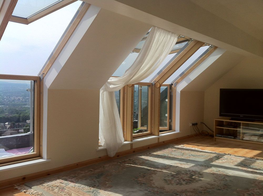 The Windows Attic Renovation Attic Remodel Attic Apartment