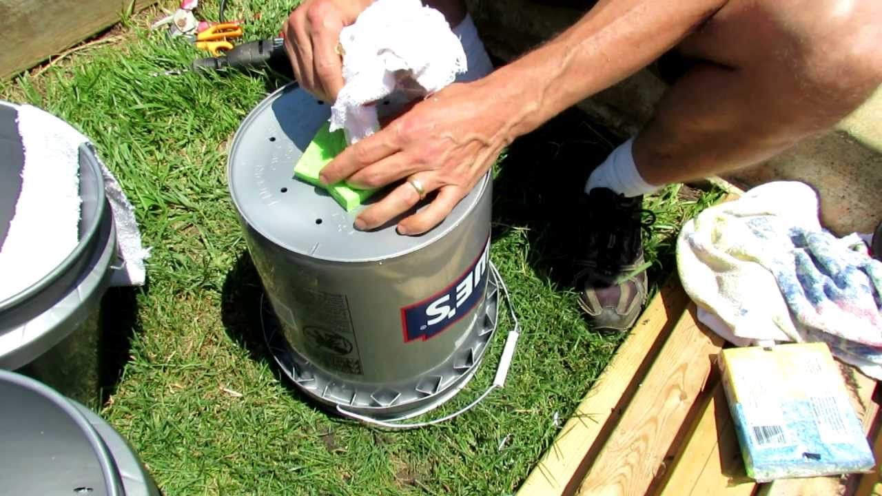 1 Of 2 How To Build A 5 Gallon Self Wicking Tomato Watering Container 2 99 Bucket From Bucket Gardening Self Watering Planter Growing Tomatoes In Containers